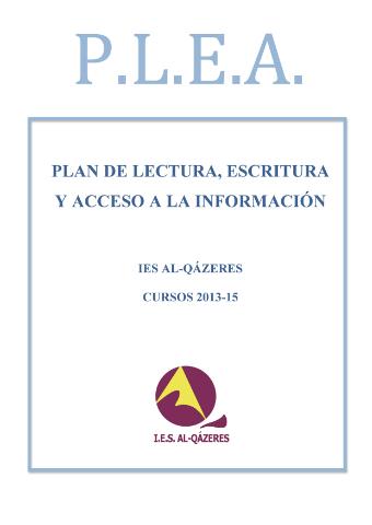 PLAN DE LECTURA Página 01